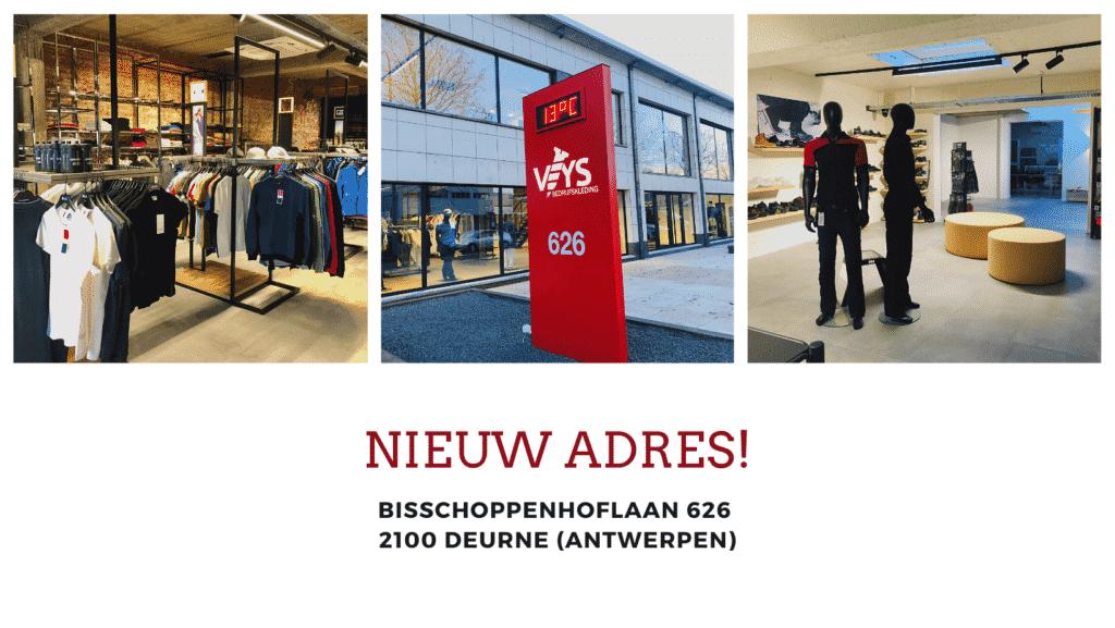 Bedrijfskleding & Werkkledij van Veys - Antwerpen (Deurne)