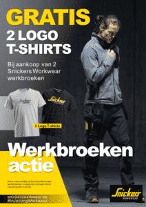 Snickers Workwear actie